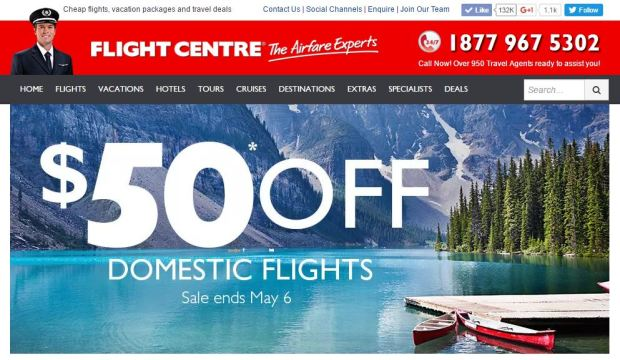 $50 off flight centre.JPG