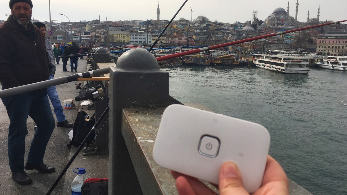Travel Tested: Mobile Pocket Wifi from Alldaywifi in Turkey